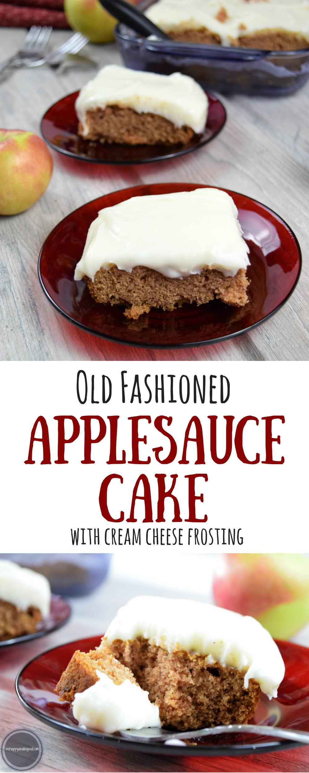 Applesauce Old Fruit Cake